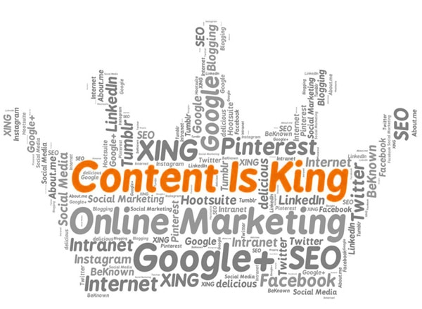 Website Content Writer King